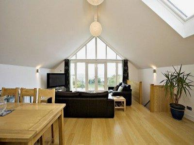 Open plan extension design