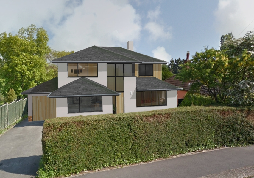 Contemporary house Fareham