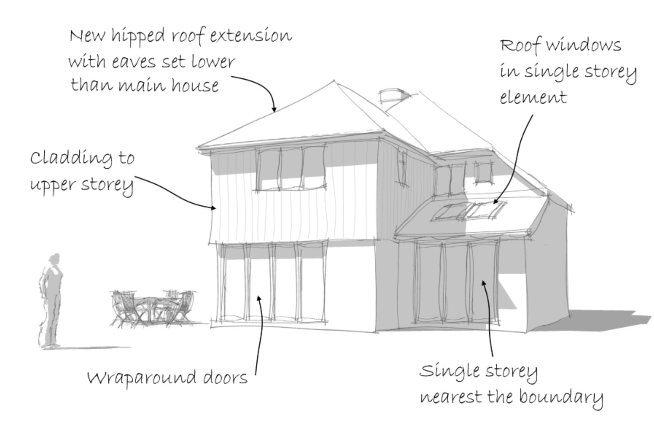 Extension design Hampshire